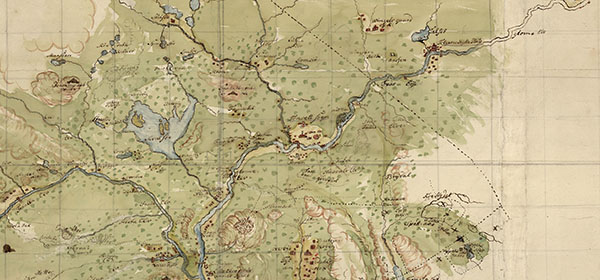 Detail from an old map