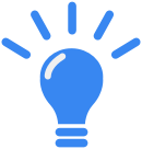 Icon projects: light bulb