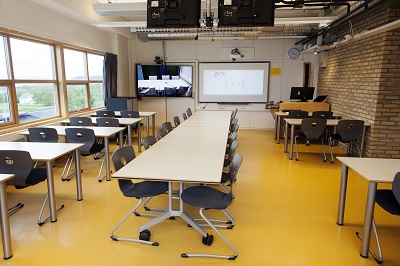 Video conference room, Dragvoll Library