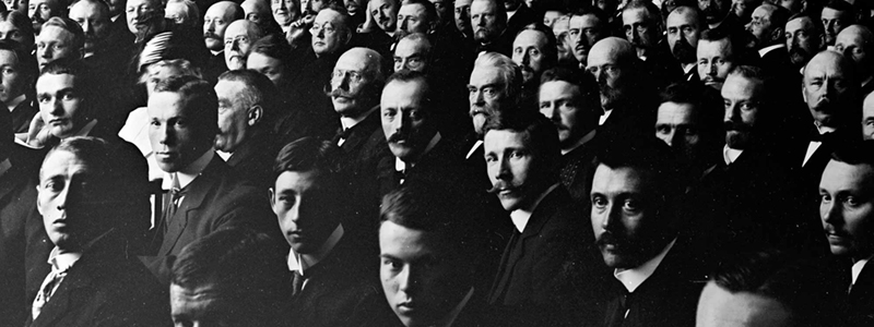 Old photo of men