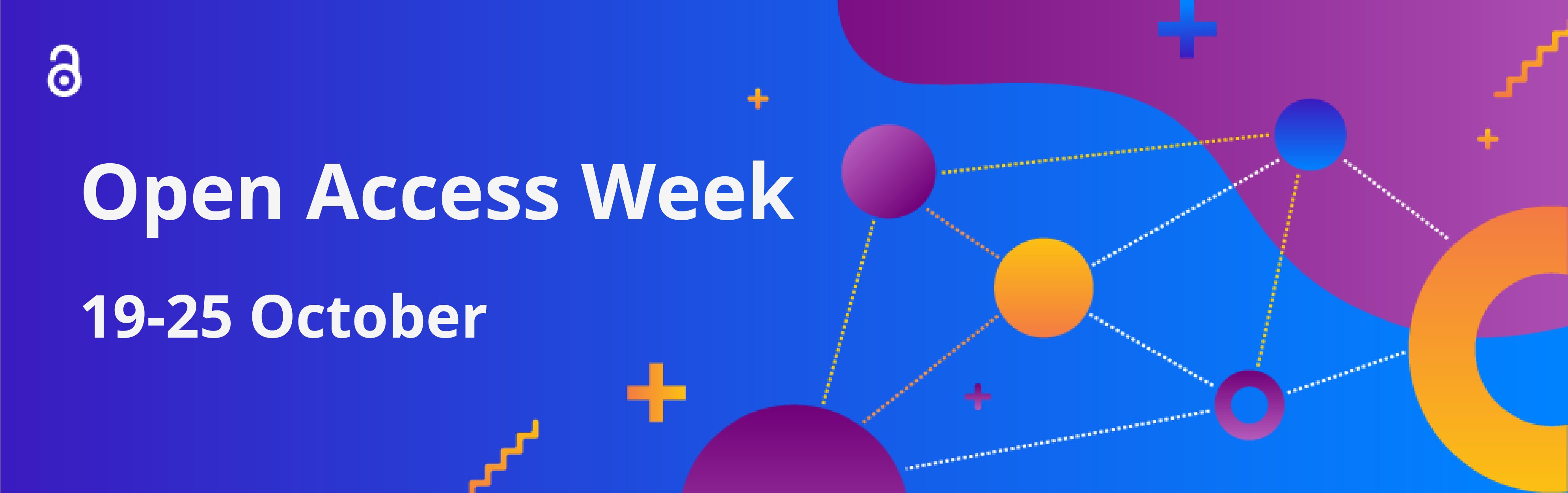 Open Access Week 19 - 25 October with logo