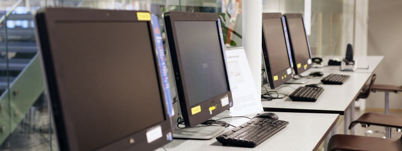 Computers - Phot: Nils K Eikeland/NTNU