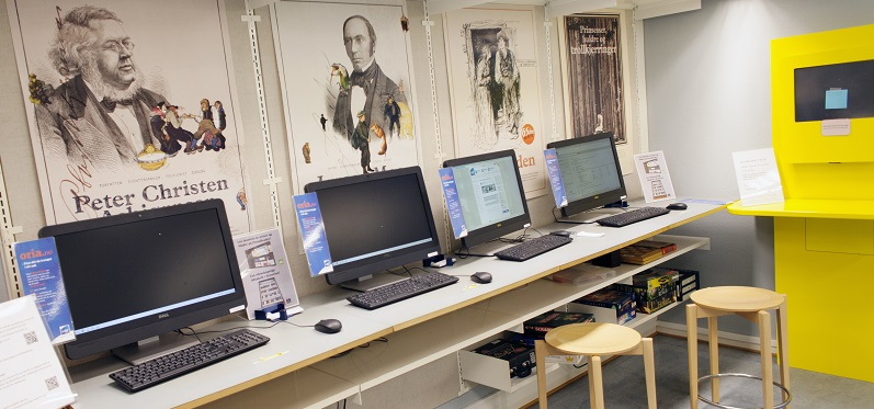 Guest PCs at the Rotvoll Library