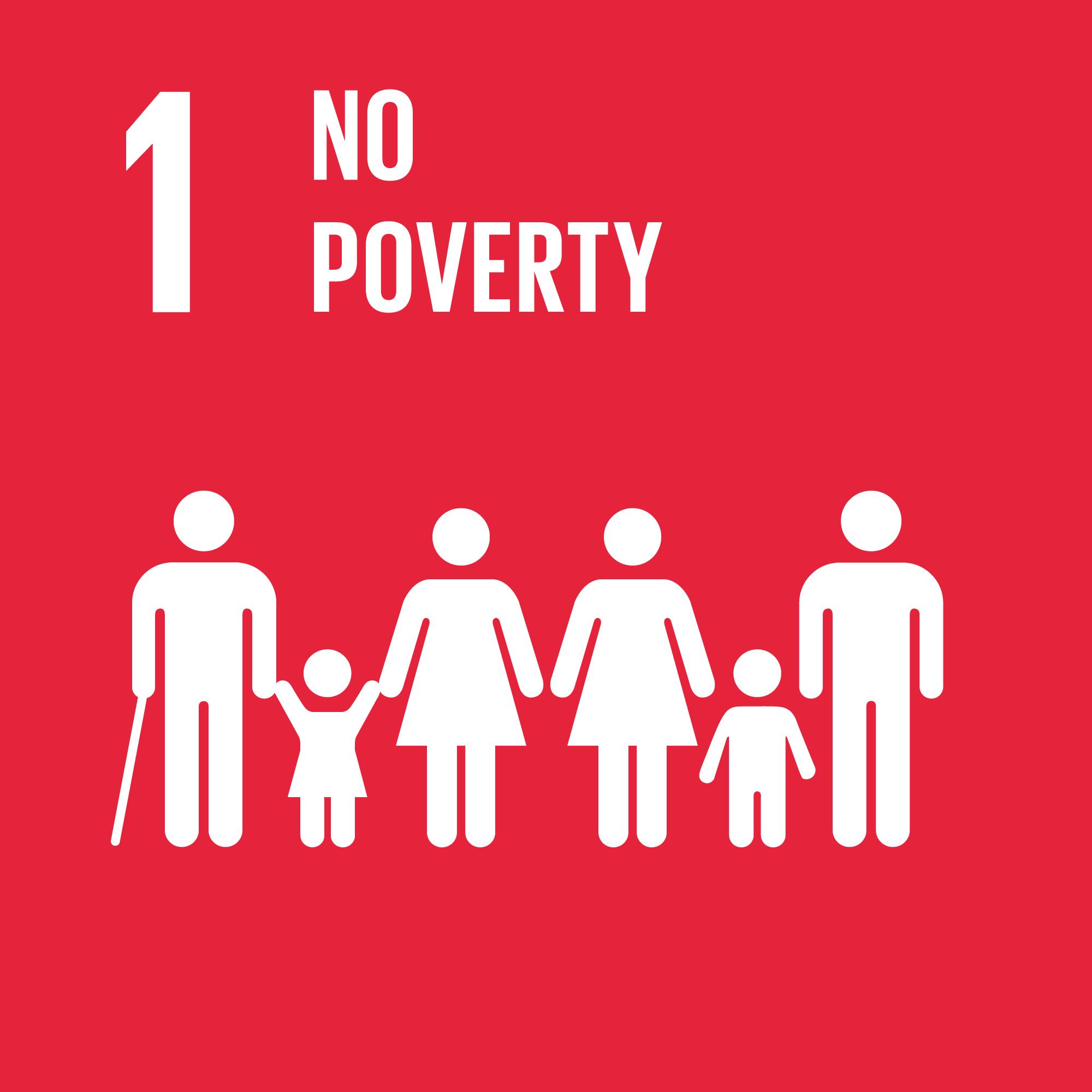 Sustainable development goals 1. Illustration.