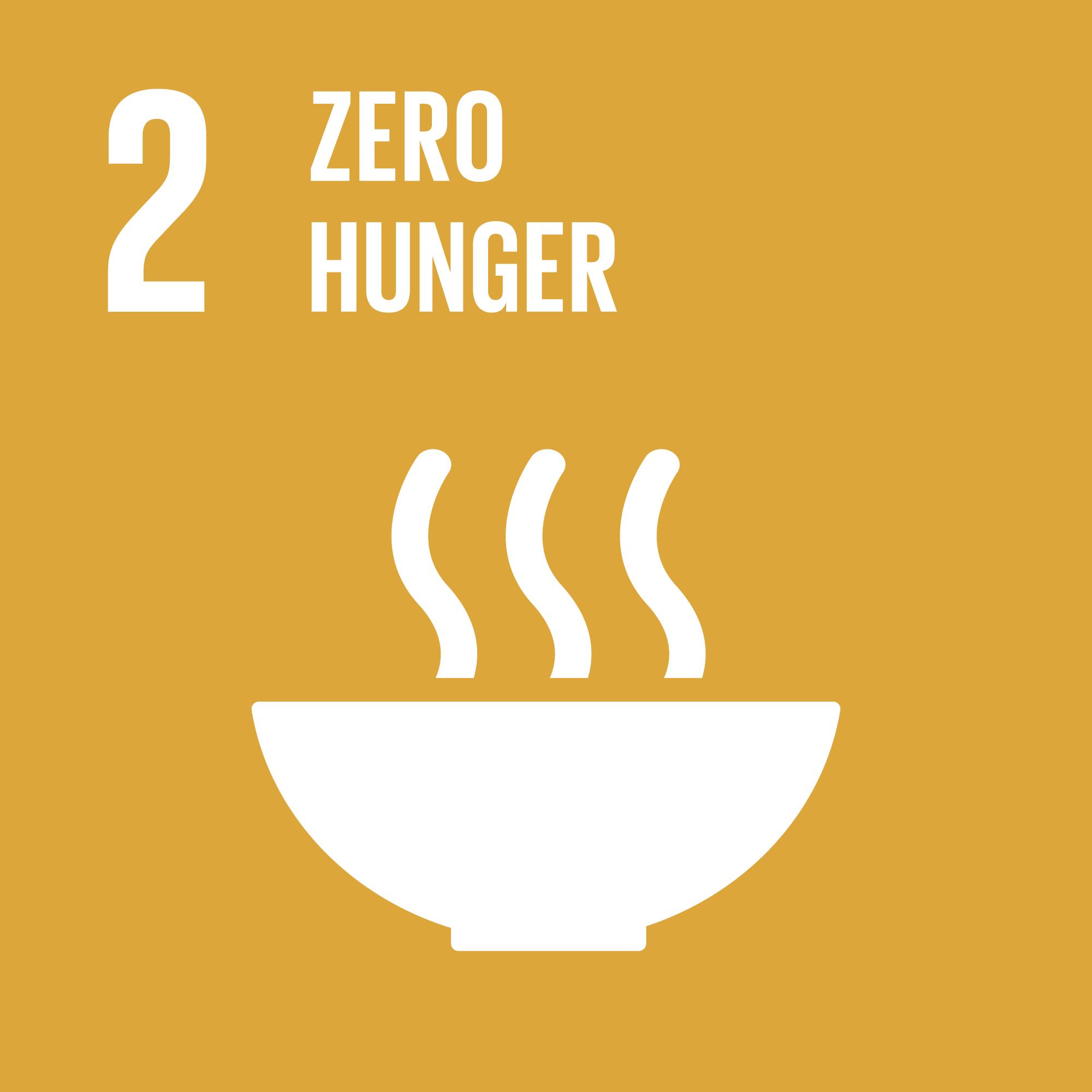 Sustainable development goals 2. Illustration.