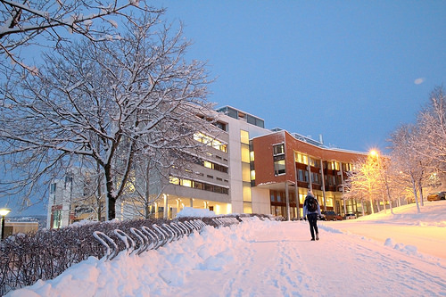 Picture of the Natural Science Building at NTNU