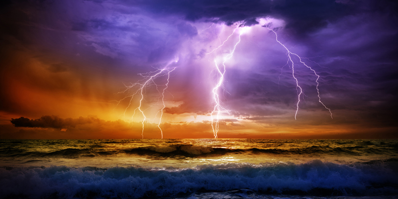 Picture illustrates storm at sea. Photo: thinkstock.com