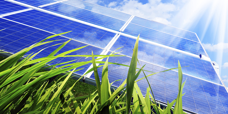 Picture EcoPower industrial photovoltaic illustration
