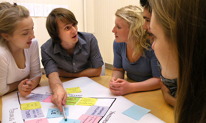EiT-group working together