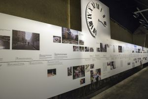 Wall with pictures from the 22 july-tradgedy. Phpto: Ann Kristin Lindaas /KMD