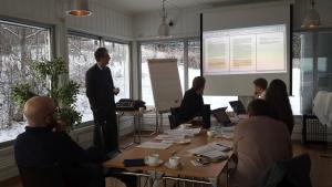 Projektmeeting for MINDGAP. Photo: Aud Mikkelsen Tretvik