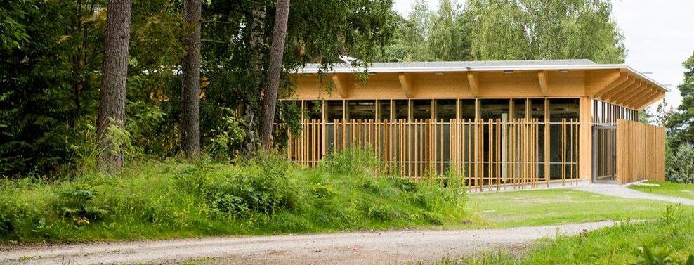 Hegnhuset on Utøya. Photo: Jørgen Wathne