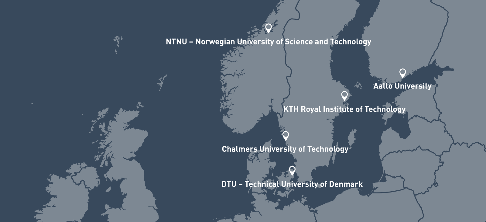 Nordic Five tech - Alliance of the leading Nordic Technical Universities