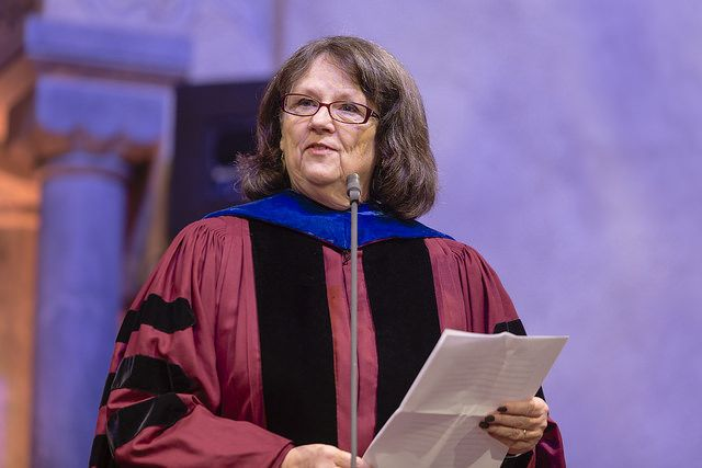 Honorary doctor and Professor Susan Lynn Cutter