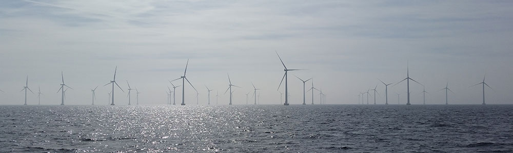 Wind turbines in the sea. NTNU/Tove Rødder