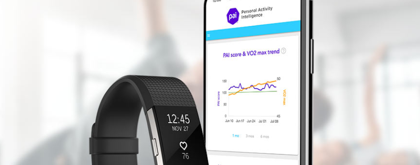 Personal Activity Intelligence and VO2max