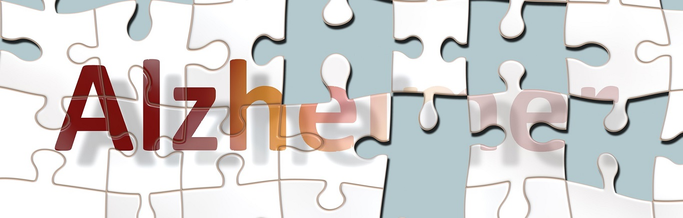 Alzheimer's Disease puzzle illustration
