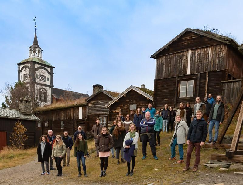 Participants at EvoDemo7 on Røros