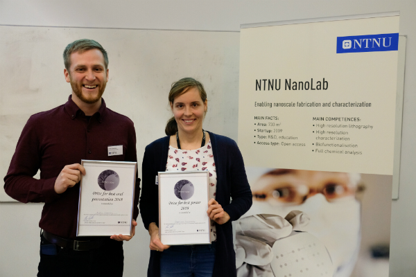 NTNU Nano prize winners photo