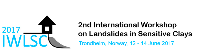 International Workshop on Landslides in Sensitive Clays