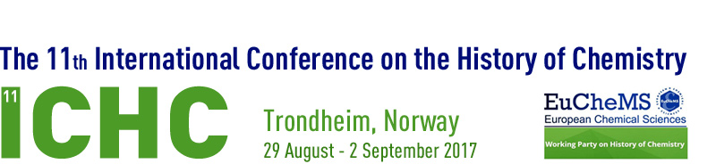 11th International Conference on the History of Chemistry (11ichc)