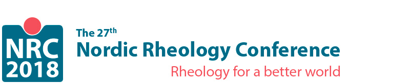 27th Nordic Rheology Conference