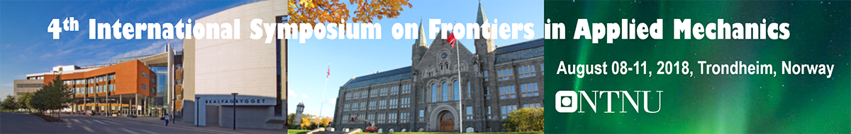 4th International Symposium on Frontiers in Applied Mechanics