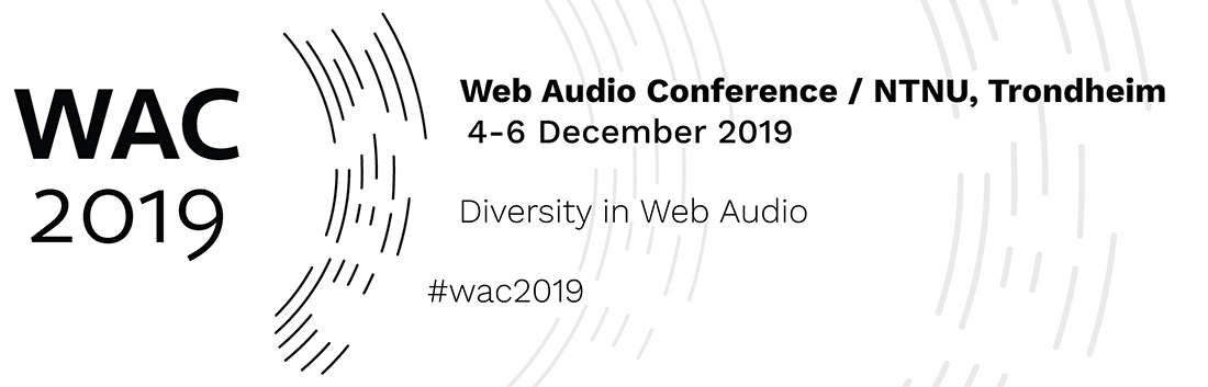 Web Audio Conference 2019