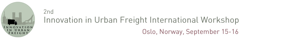 Innovation in Urban Freight International Workshop